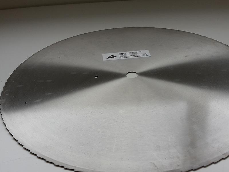 ongeteflonneerd rondmes 420 mm